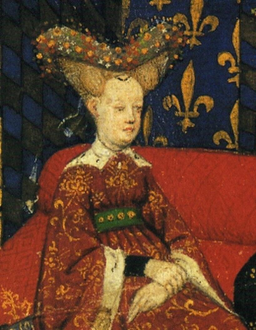 Изабелла Баварская, жена французского короля Карла VI Безумного