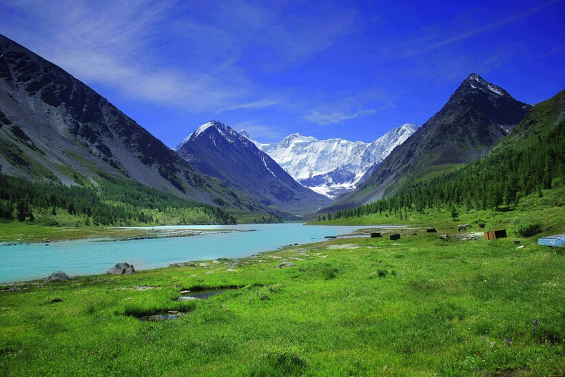 Алтайские горы — жемчужина края