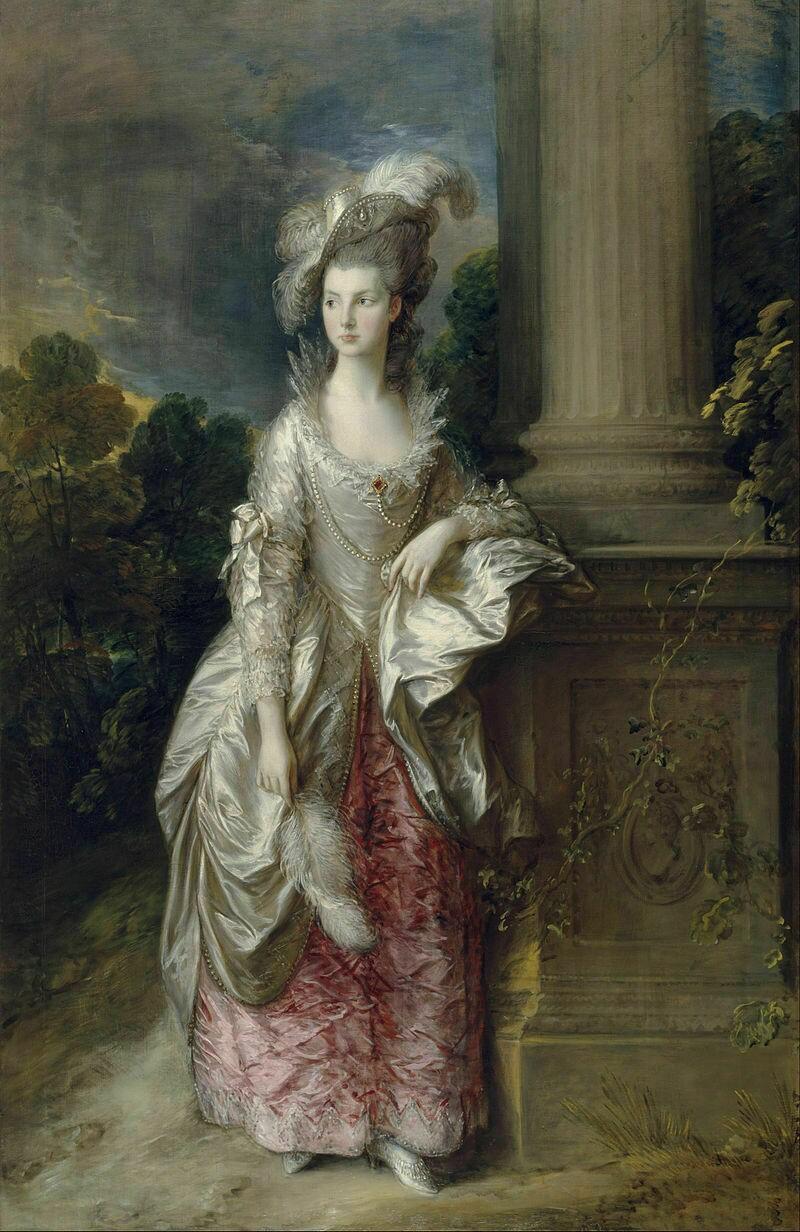 Портрет миссис Мэри Грэхем, 1777 г. Томас Гейнсборо