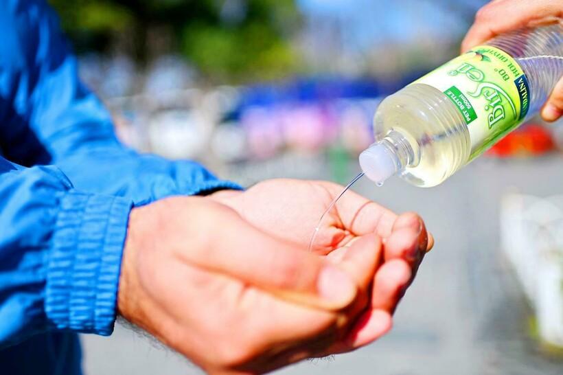 Сегодня это способ дезинфекции рук