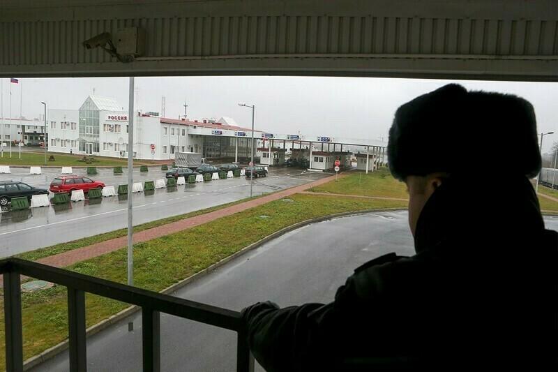 На фото ― Мамоново, где находится КПП
