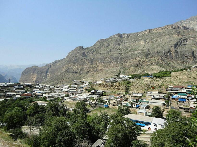 Село Гимры, где проживают чамалалы