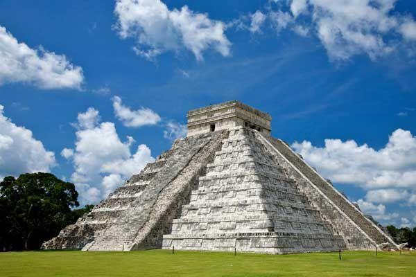 Древний город майя Чичен-Ица