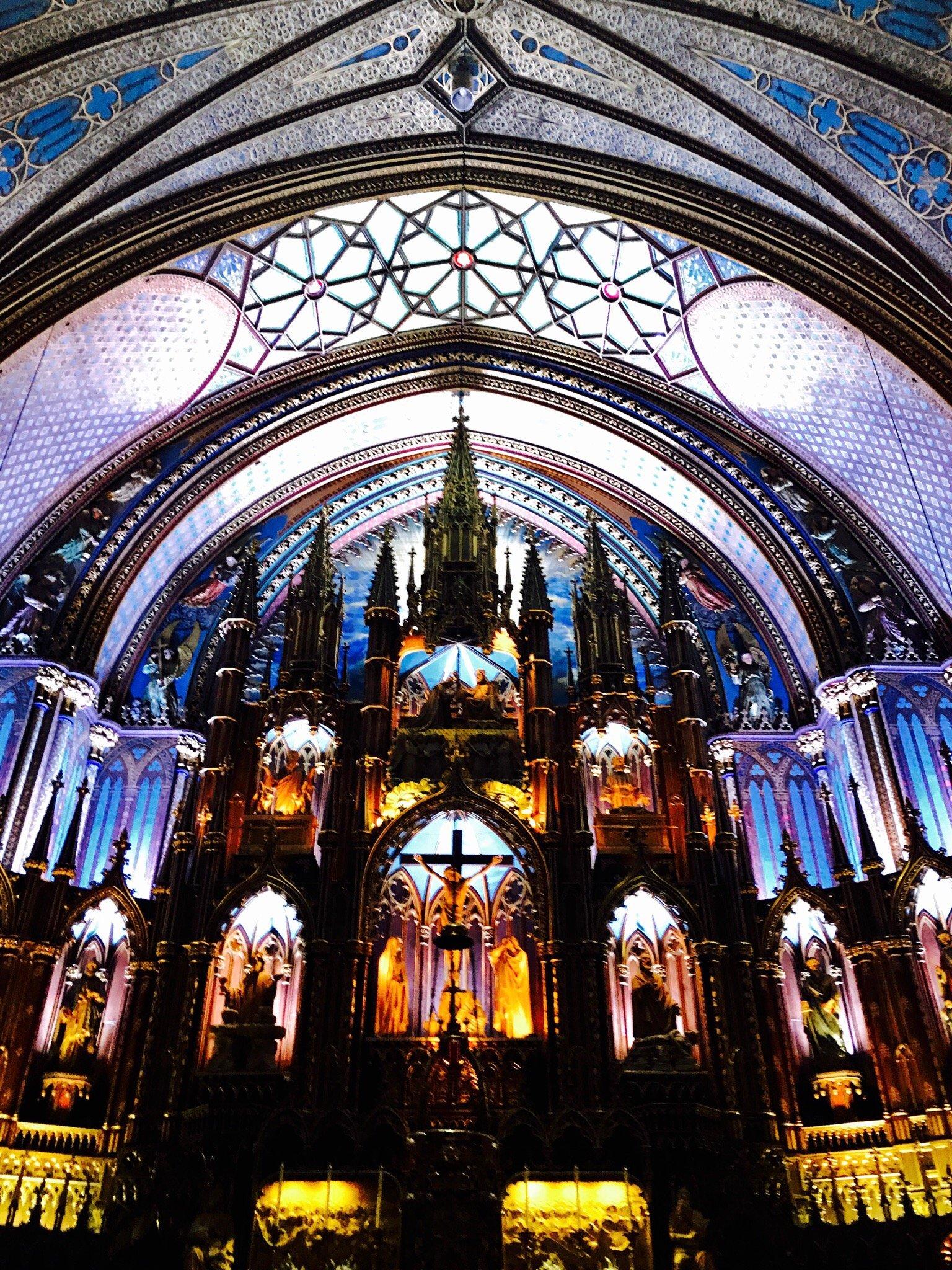Собор Монреальской Богоматери (Базилика Нотр-Дам де Монреаль)