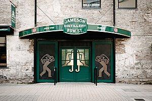 Старый завод виски Jameson