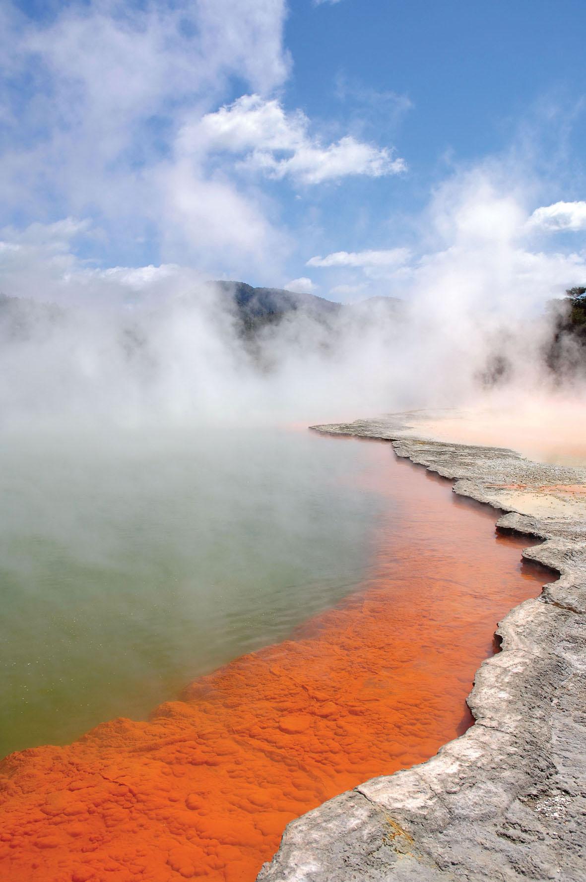 Геотермальный парк Wai-O-Tapu