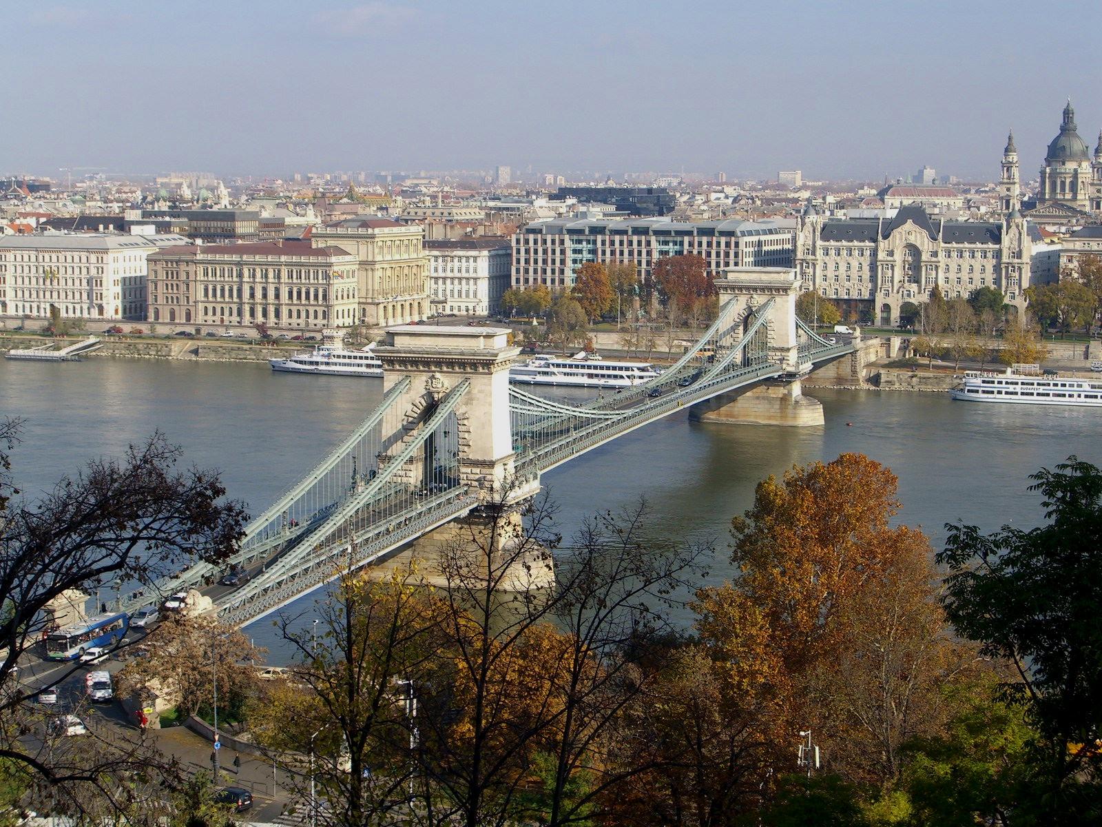 Цепной мост (Мост Сеченьи Ланцхид)