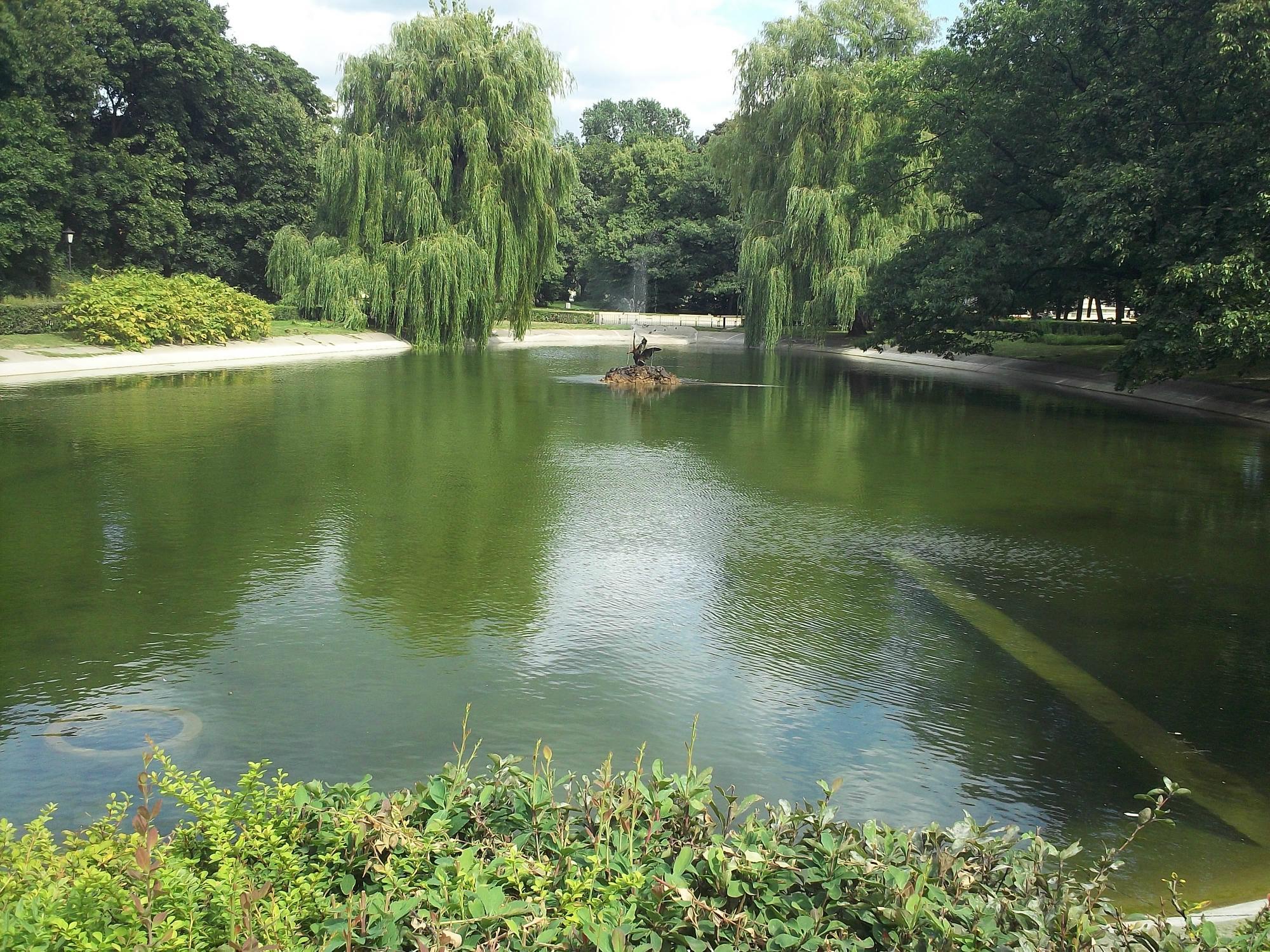 Парк Лазенки - Королевская резиденция