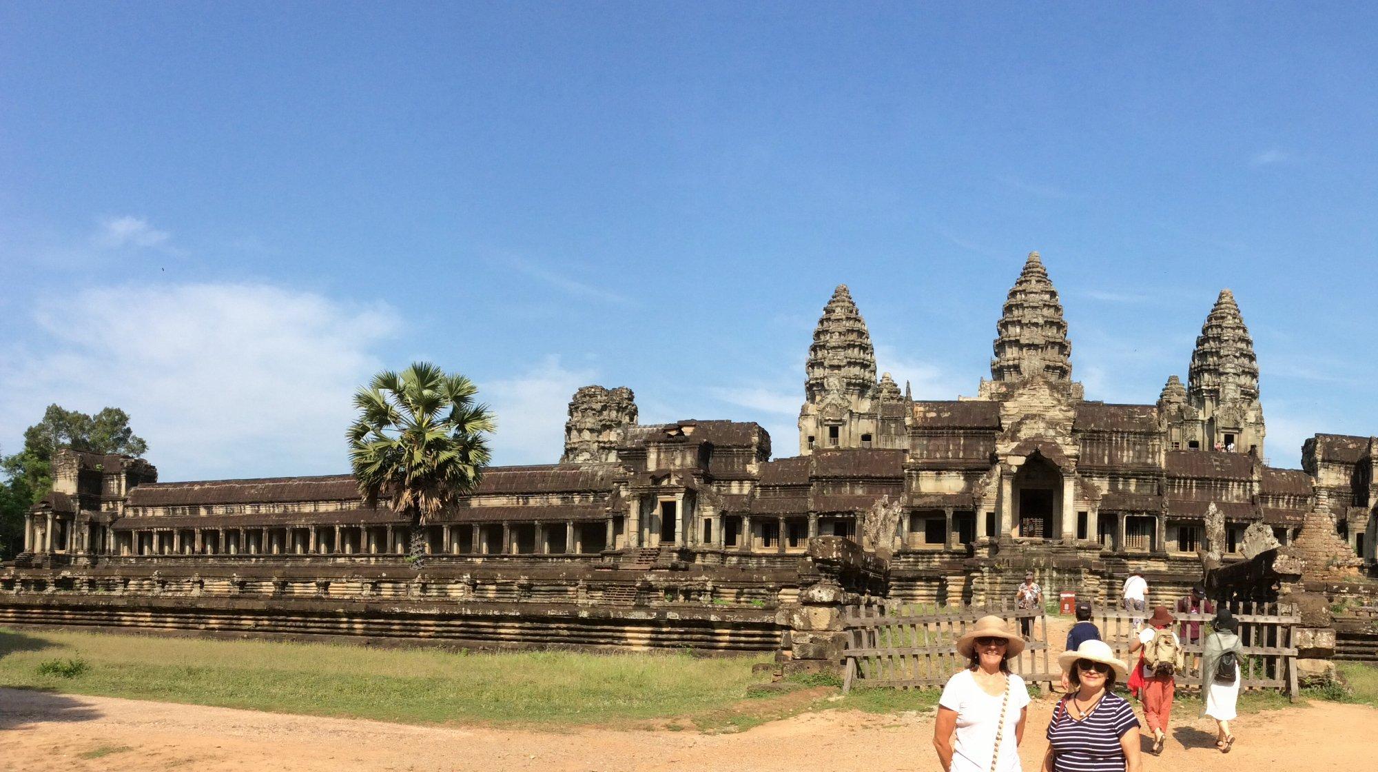 Индуистский храмовый комплекс Ангкор-Ват