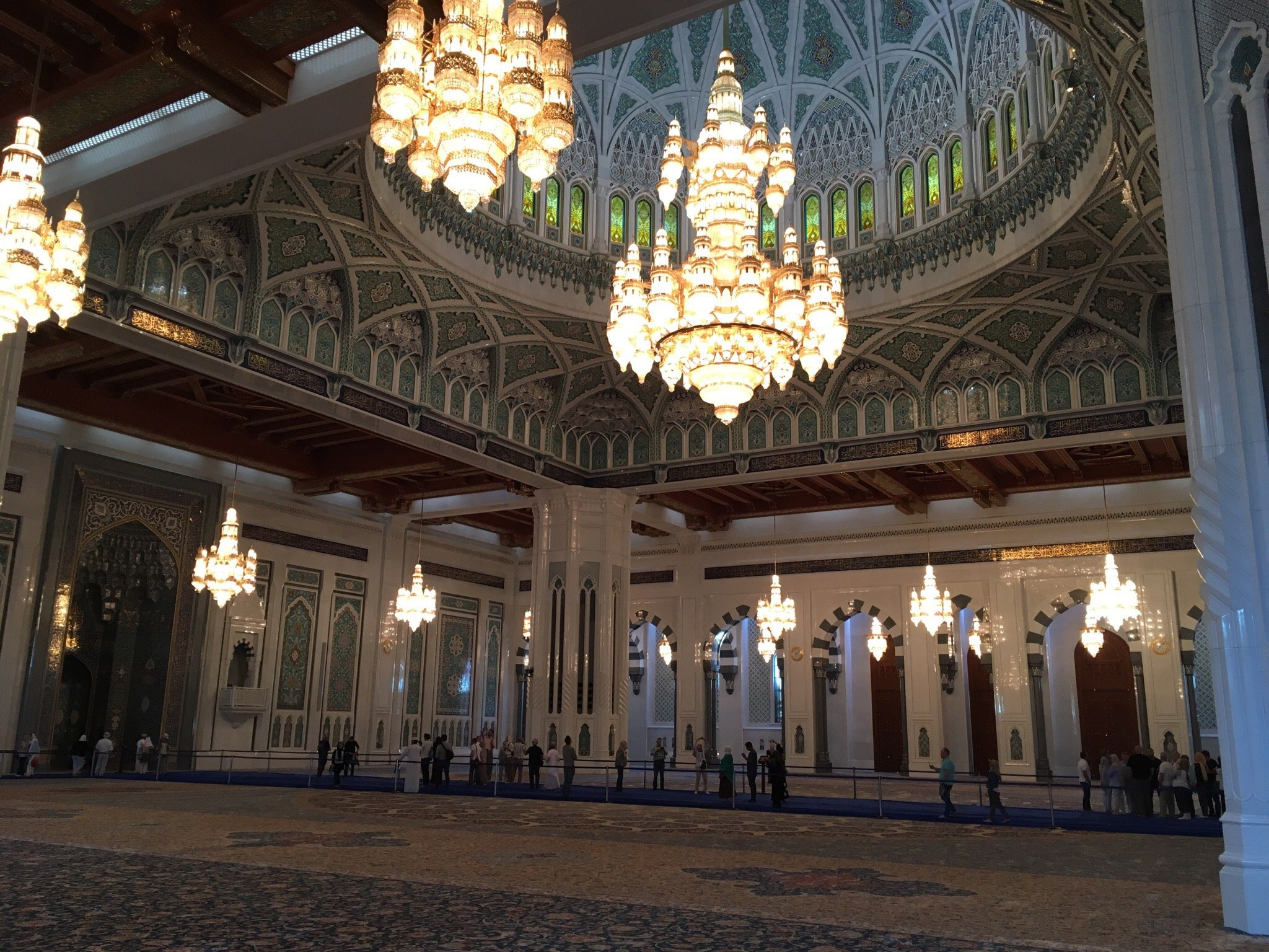 Большая мечеть Султана Кабуса