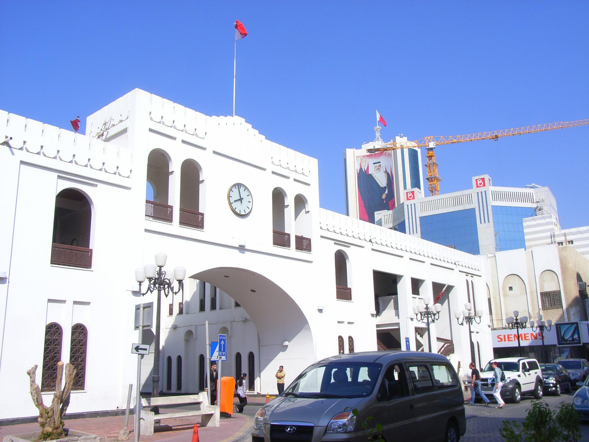 Памятник Баб Аль Бахрейн