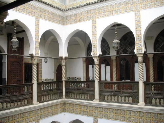 Касба в городе Алжир