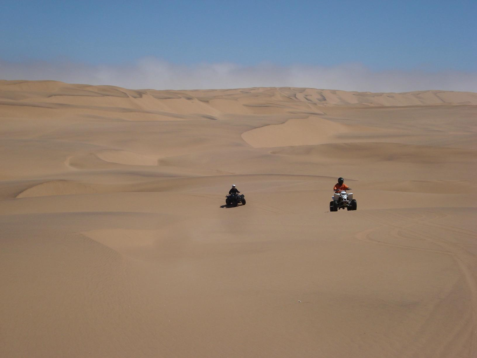 Аттракцион Desert explorers