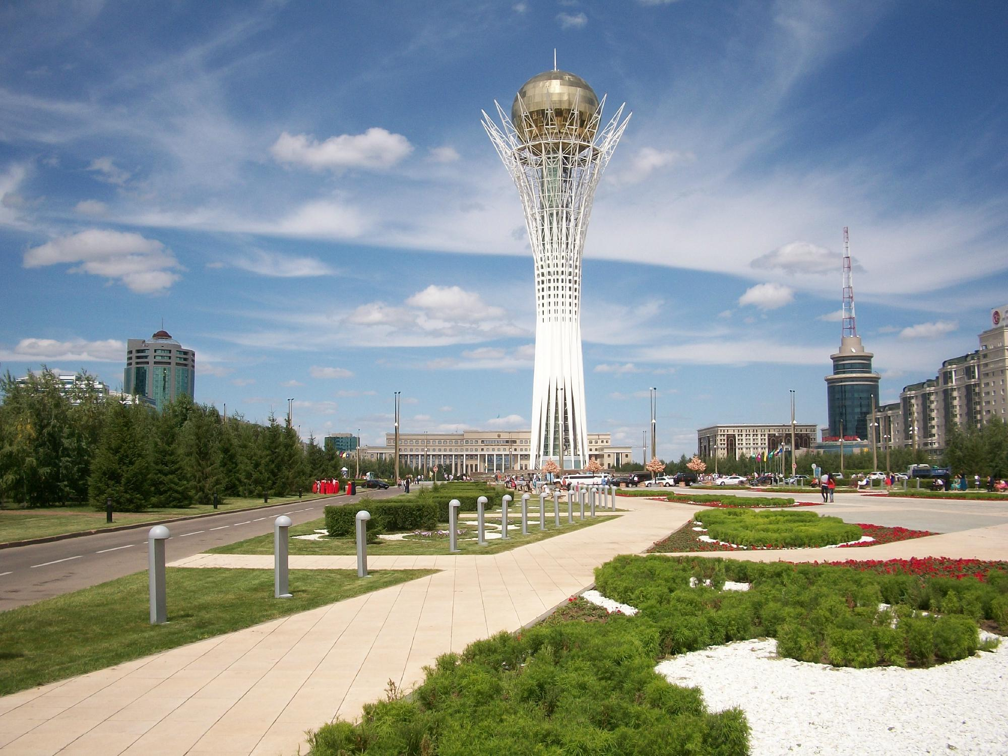 """Монумент """"Астана-Байтерек"""""""