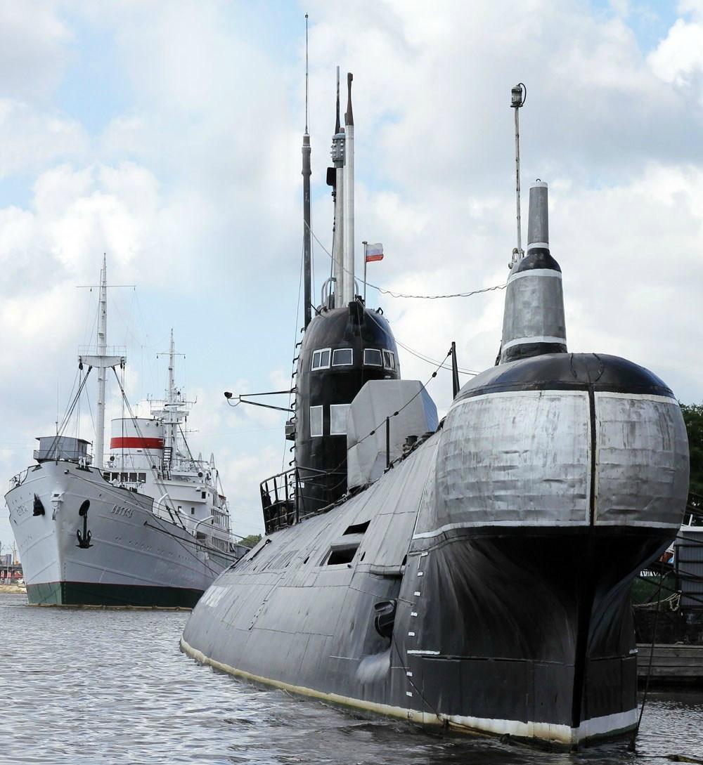 Подводная лодка-музей Б-413