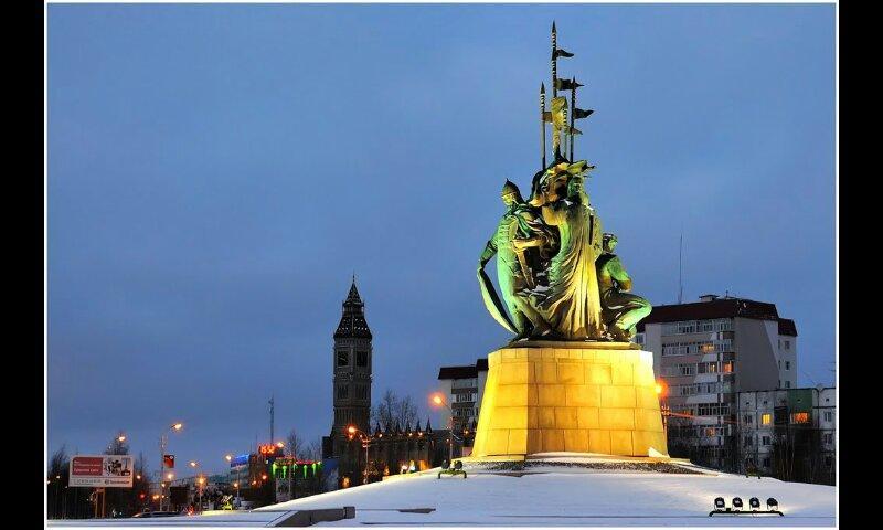 Памятник основателям города Сургута