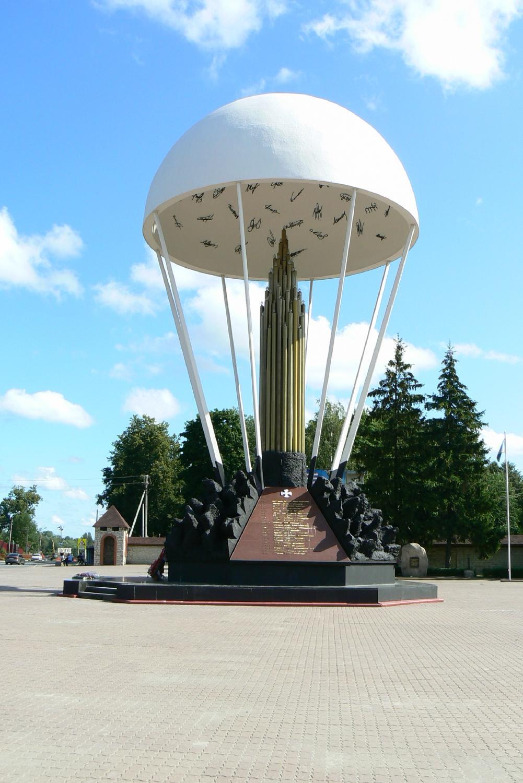 Памятник псковским десантникам (Купол)