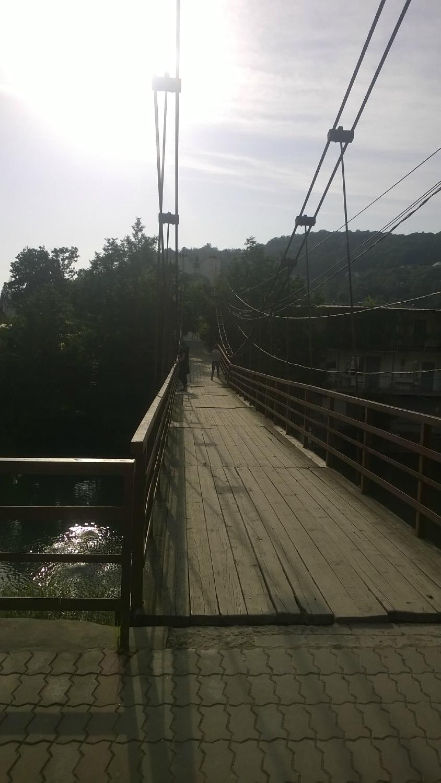 Подвесной мост через р. Дагомыс