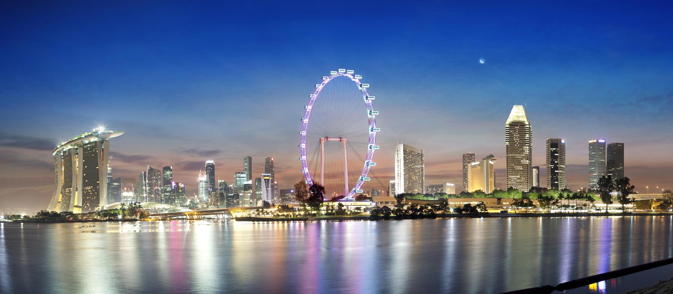 """Колесо обозрения """"Сингапур Флайер"""""""