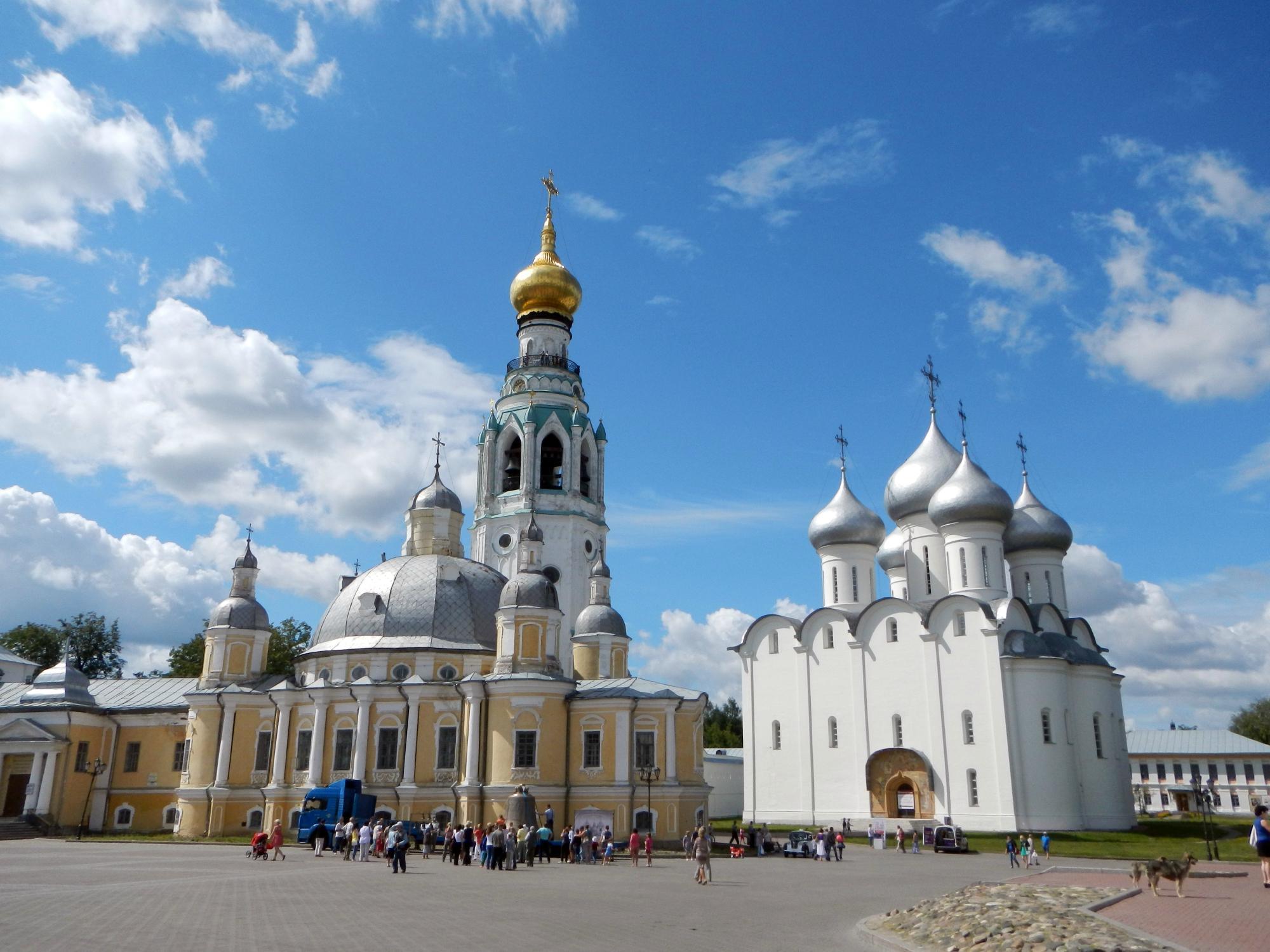 Колокольня Вологодского Кремля