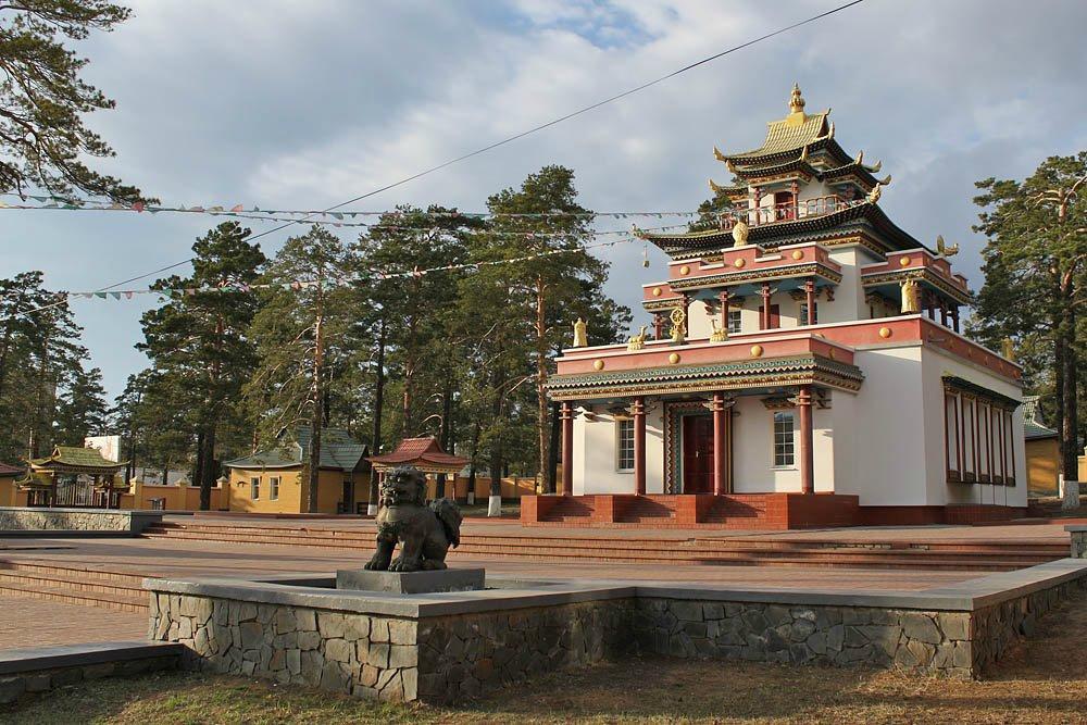 Читинский дацан (Буддийский храм в Чите)