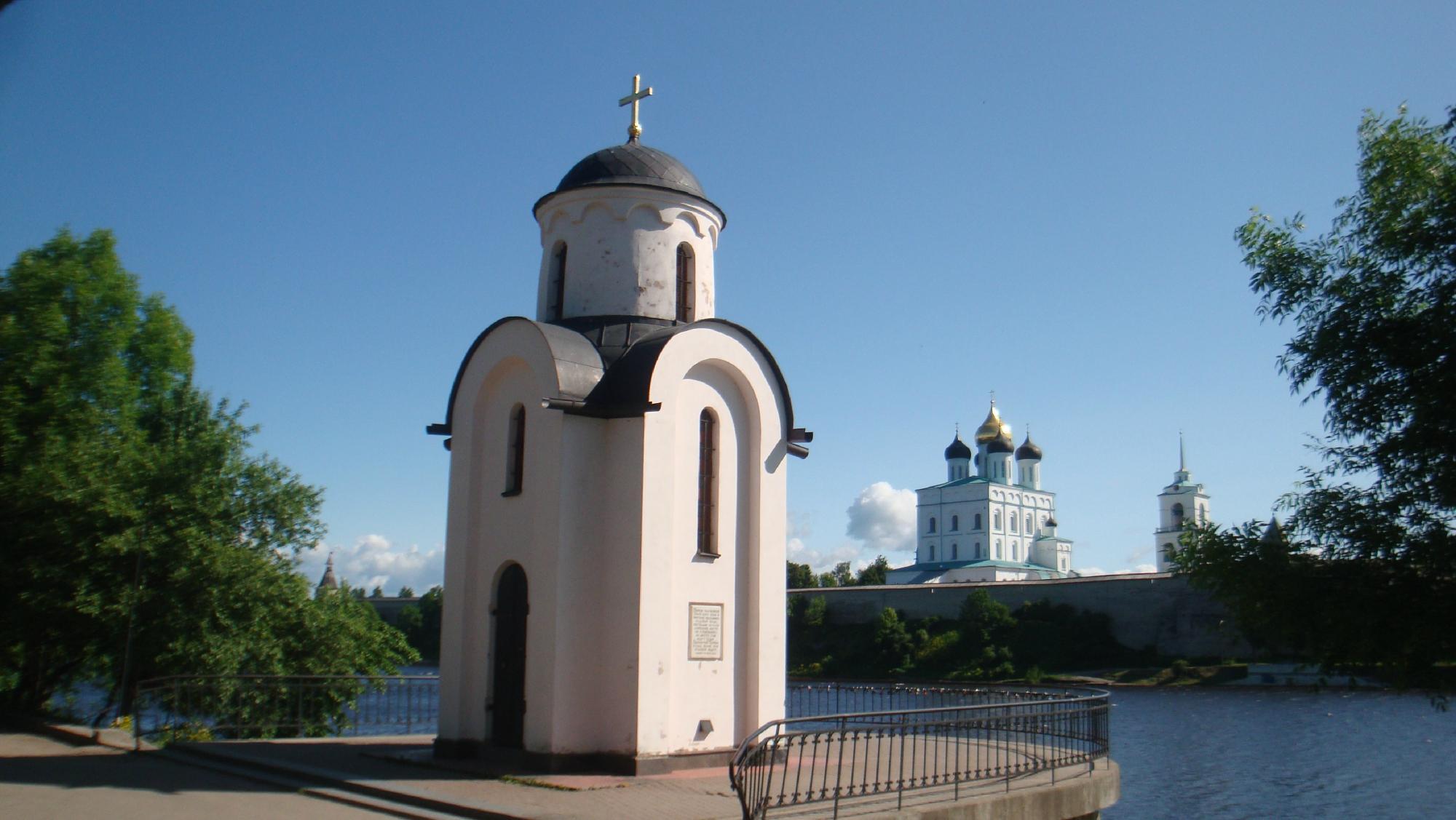 Ольгинская часовня и смотровая площадка
