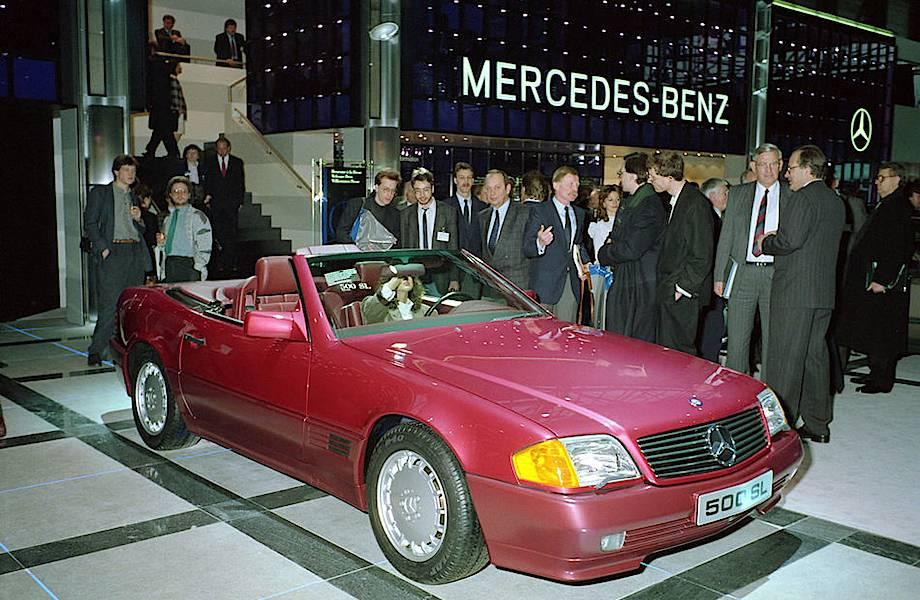 Лучшие модели Mercedes за всю историю создания марки