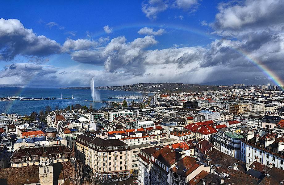 15 мест в Женеве, которые стоит увидеть своими глазами