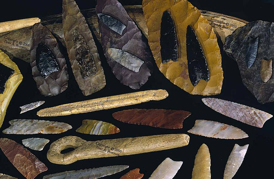 Древние люди в Северной Америке учились изготавливать орудия труда у одного мастера
