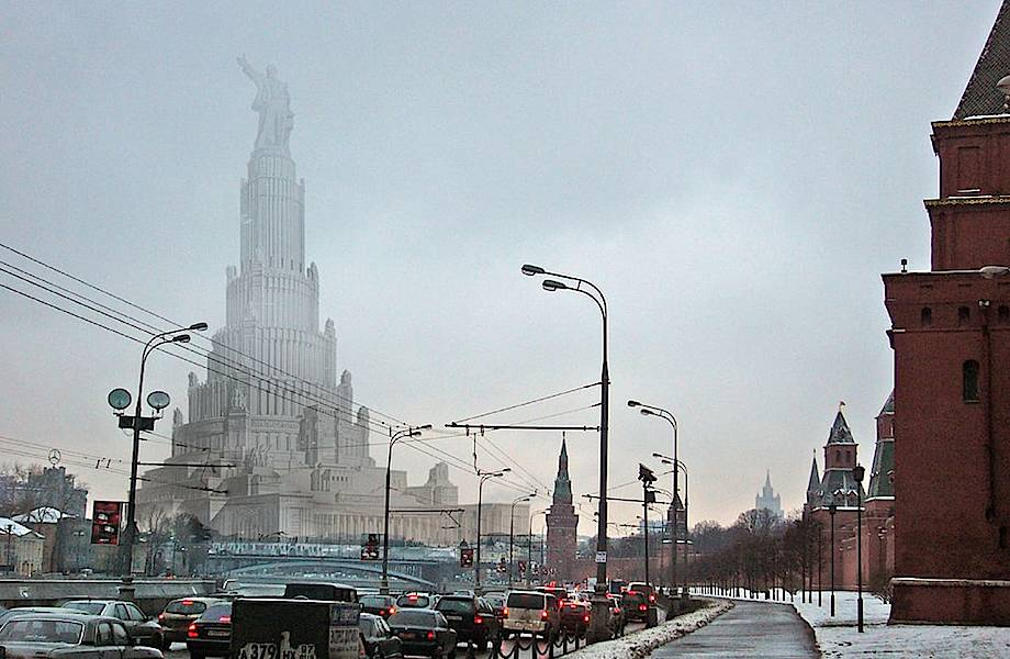 Дворец Советов — утопический проект СССР