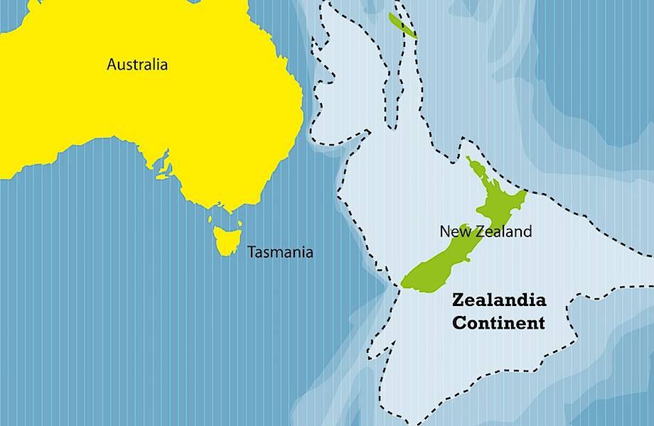 Зеландия — седьмой континент, о существовании которого вы не знали