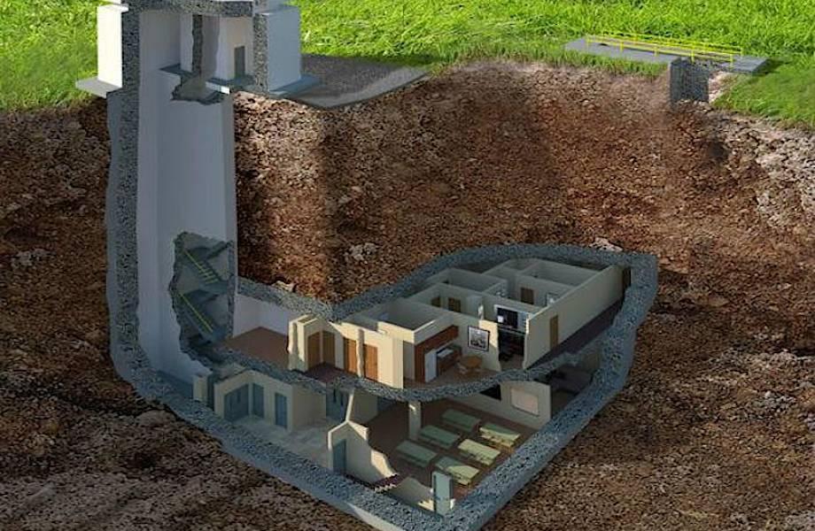 Ядерный бункер в США на случай войны выглядит лучше, чем многие квартиры