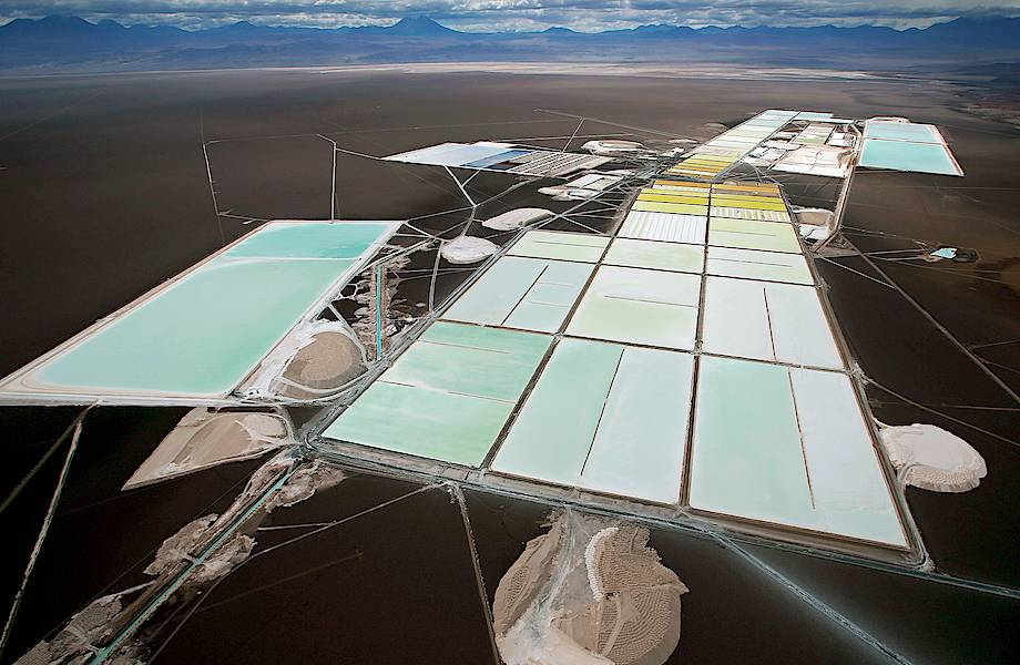 Салар-де-Атакама: как в пустыне добывают литий для аккумуляторов