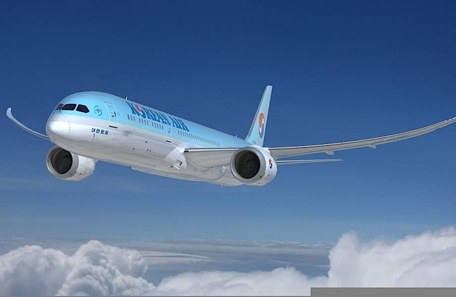 Korean Air поставит Boeing 787 Dreamliner на рейсы из Москвы в Сеул