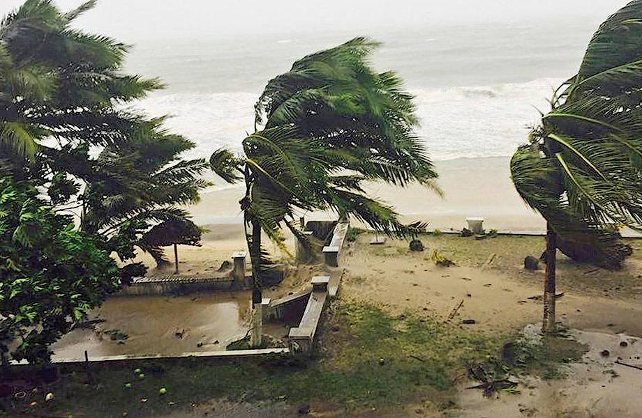 Из-за глобального потепления Африка все чаще страдает от тропических ураганов