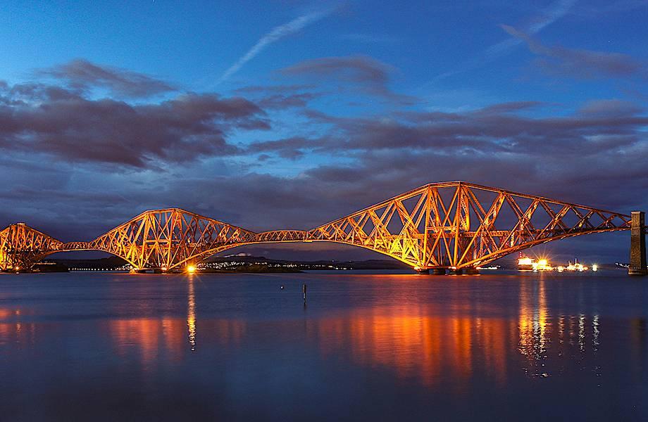 Шотландский мост Викторианской эпохи, над которым не властно время