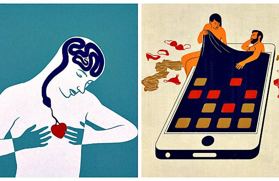 20 лаконичных иллюстраций про наш безумный мир, заставляющих задуматься