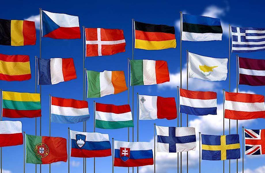 Очень похожие и даже одинаковые флаги разных стран мира, которые легко перепутать
