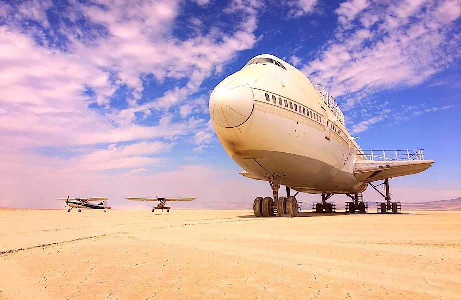 Аэродромы XXI века: как построить взлетно-посадочную полосу из песка
