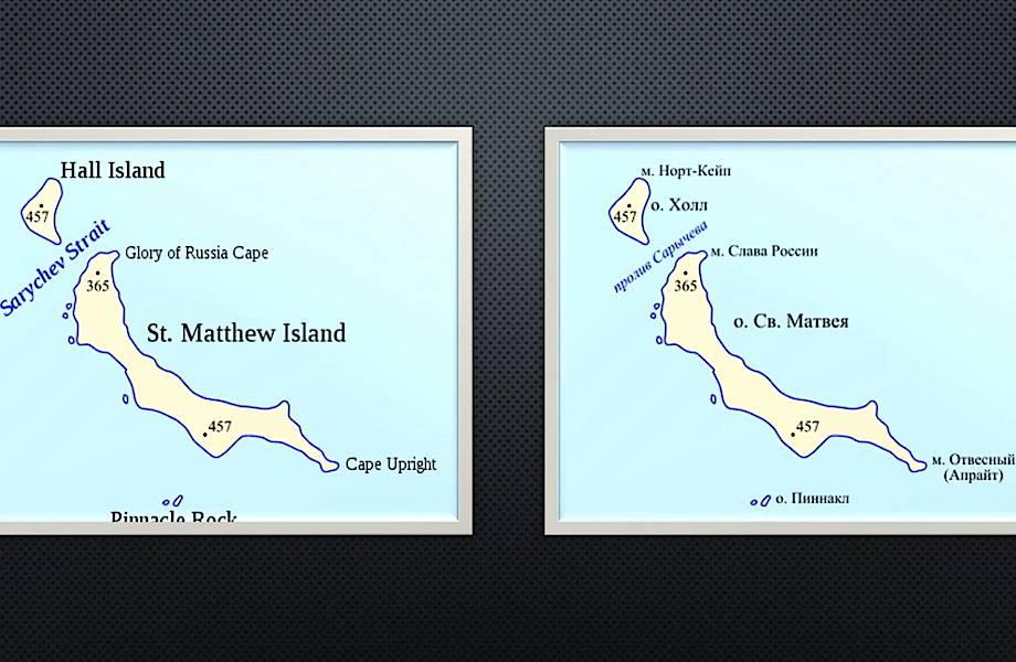 Видео: Неудачный эксперимент с животными, проведенный на остров Святого Матвея