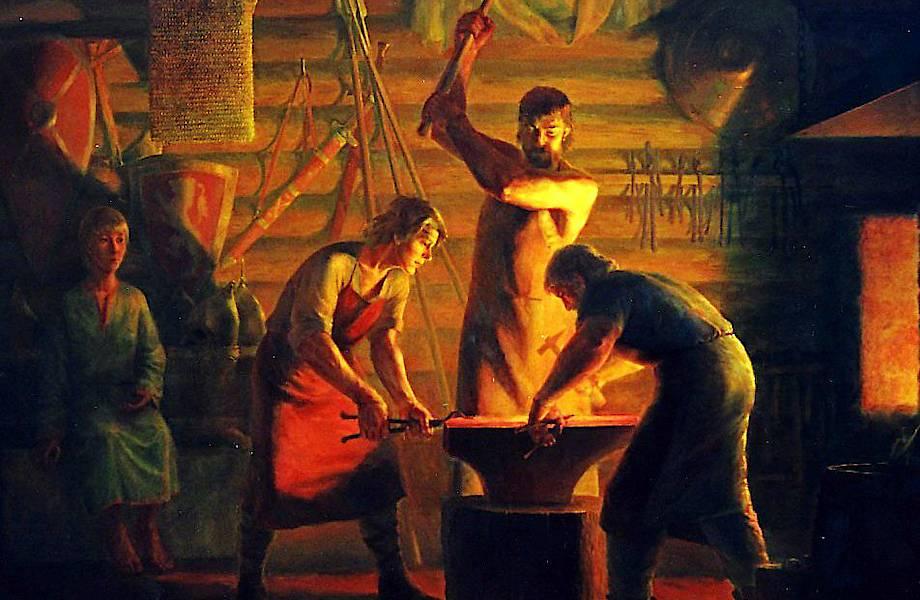 Кузнецы: коллеги богов и первые парни на деревне