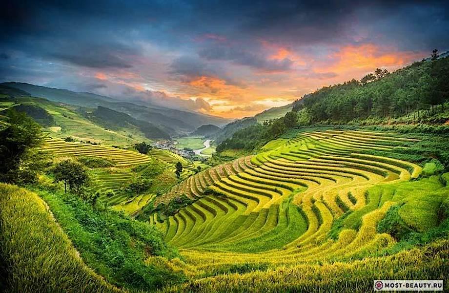 Рисовые террасы: самые красивые туристические тропы в мире