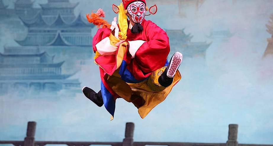 Фото дня: китайский театр
