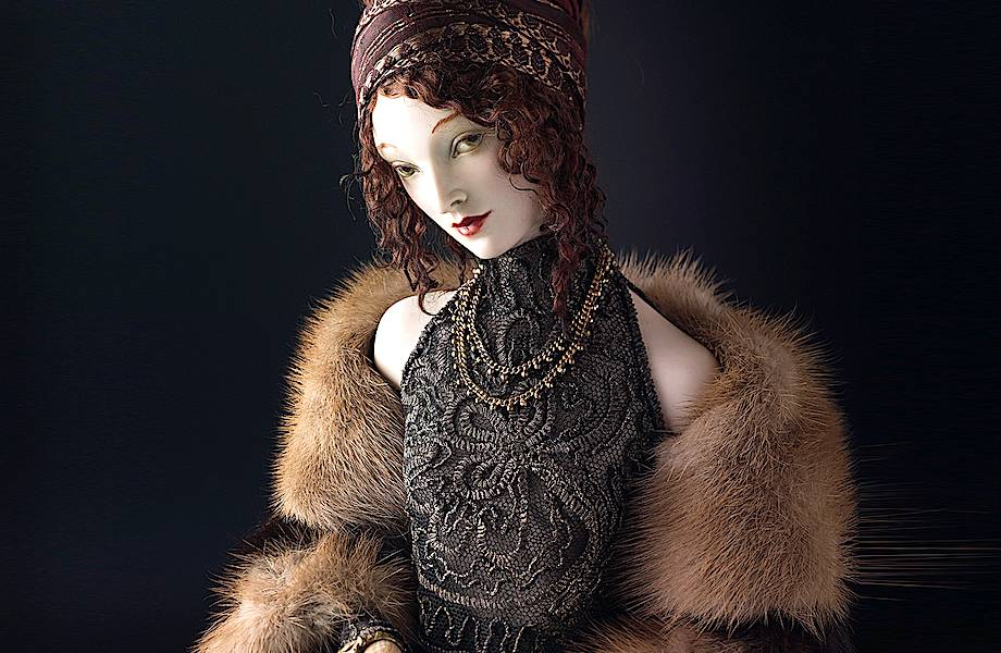 Живой фарфор: удивительные куклы Александры Кукиновой