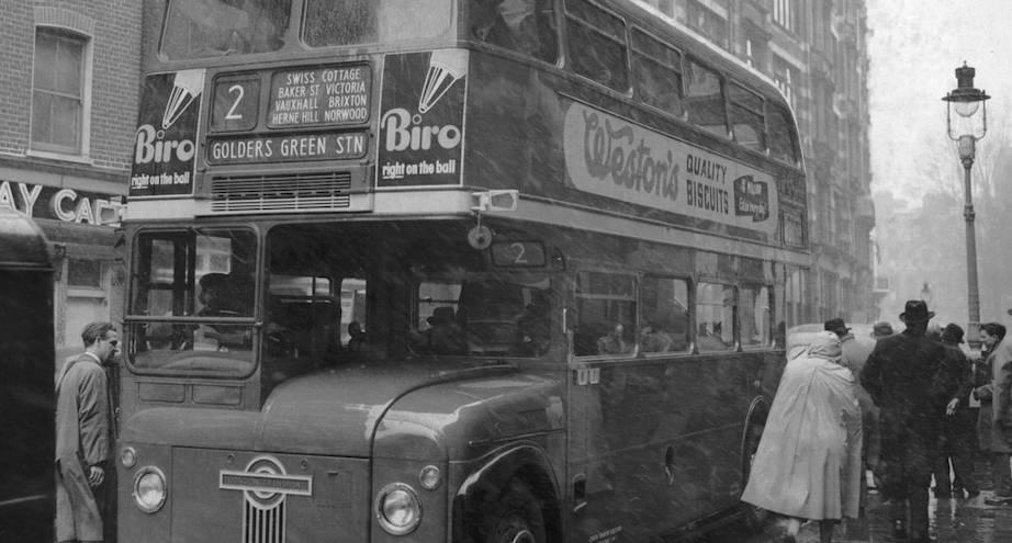 Фото дня: первые двухэтажные автобусы Лондона