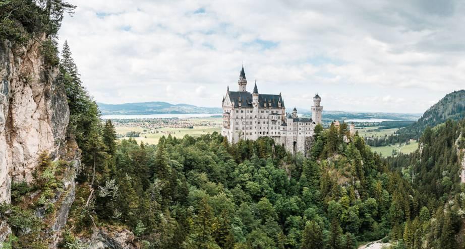 Фото дня: замок, вдохновивший Уолта Диснея