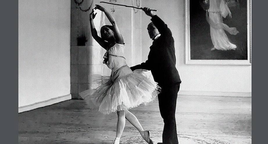 Фото дня: балерина Анна Павлова на репетиции