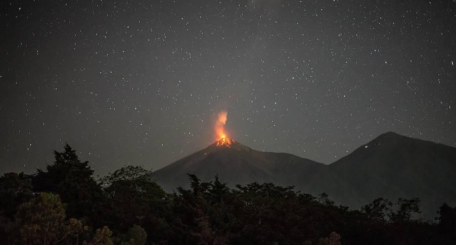 Фото дня: вулкан Фуэго