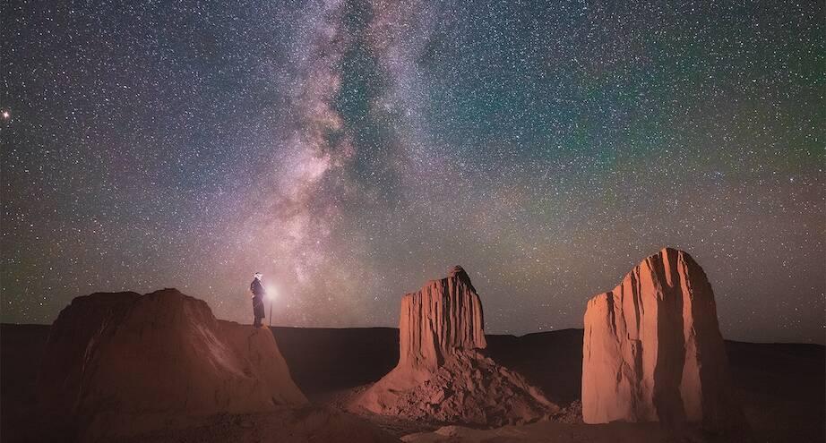 Фото дня: звездное небо над Монголией