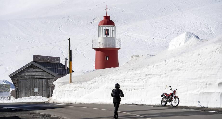 Фото дня: заснеженные горы Швейцарии